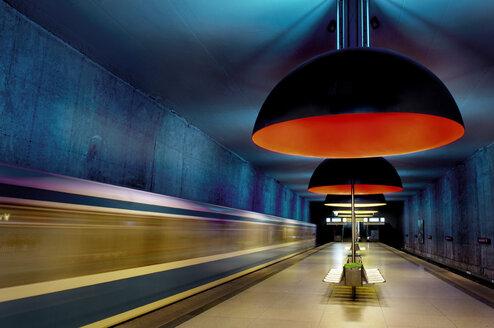 Germany, Bavaria, Munich, Westfriedhof Subway Station - MB00787