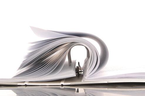 Open folder, close up - 00378LR-U
