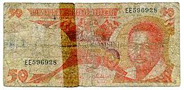 One Singapur-Dollar, close-up - TH00753