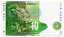 Ten-rand-banknote, South Africa - TH00738