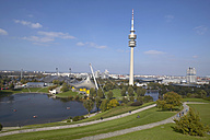 Germany, Bavaria, Olympic Tower in Munich - TH00711