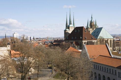 Germany, Erfurt, Citiscape - UK00151