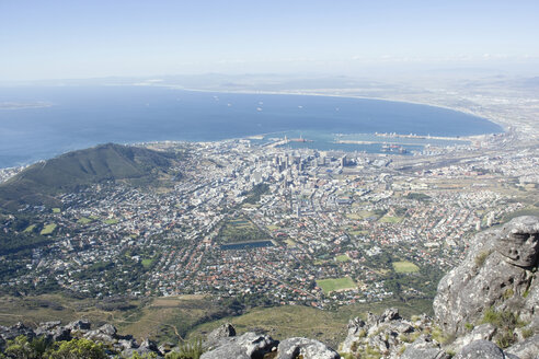 South Africa, Cape Town, view from Table Mountain - ABF00407