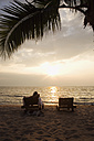 Asia, Thailand, Sunset view of beach - RDF00611