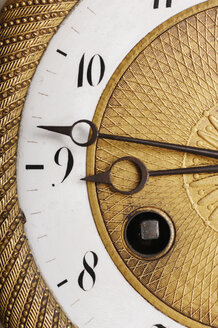 Close-up of an Antique Clock Face - 00436LR-U