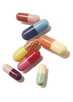 Pills, elevated view - 00409LR-U