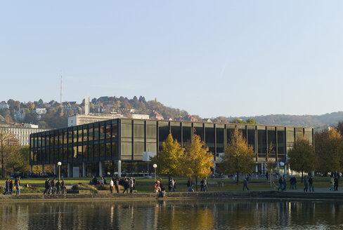 Germany, Baden Württemberg, Stuttgart, Building of the Parliament of Baden-Wuerttemberg - KM01315