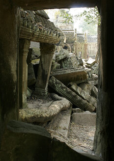 Cambodia, Angkor, Siem Reap, Ta Prohm Temple - GA00057