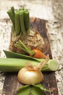 Soup vegetables, close-up - SC00229