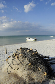 Mexico, Holbox Island, Fisherboats - GNF01002