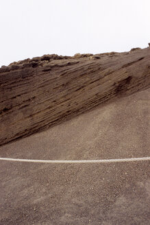 Spain, Lanzarote, Rock formation, lava flows, close up - PM00594
