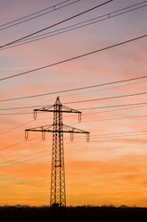 Germany, Bavaria, Pylon - FOF00856