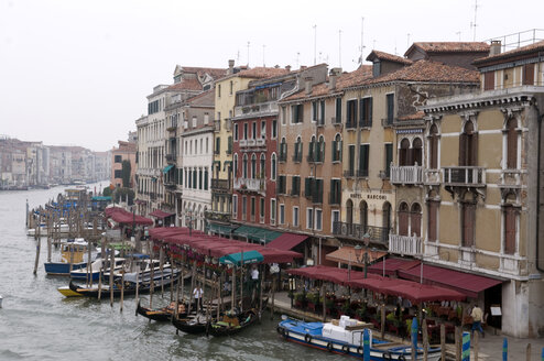 Italy, Venice, Grand Canal, view from Rialto Bridge - AWDF00037