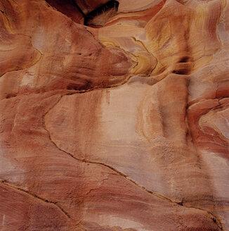 Jordan, Petra, Rock formation, Sediment - GA00095