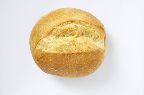 Bread roll, elevated view - THF00837