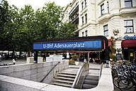 Germany, Berlin, Subway sign, Adenauerplatz - 00389DH-U