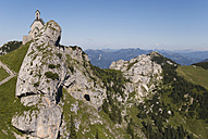 Germany, Bavaria, Wendelstein with chapel - UMF00251