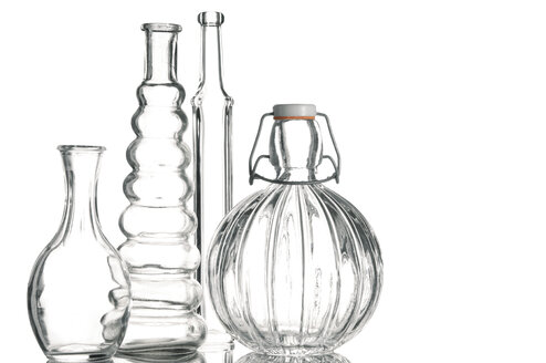 Empty Glass Bottles, close-up - 00448LR-U