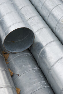 Industrial Pipes, Metal Pipes, (full frame) close-up - AWDF00233