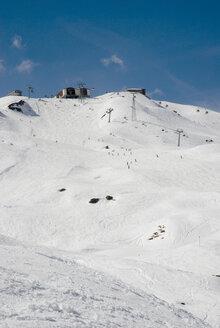 Switzerland, Arosa, Skiing region, ski lift - AWD00314