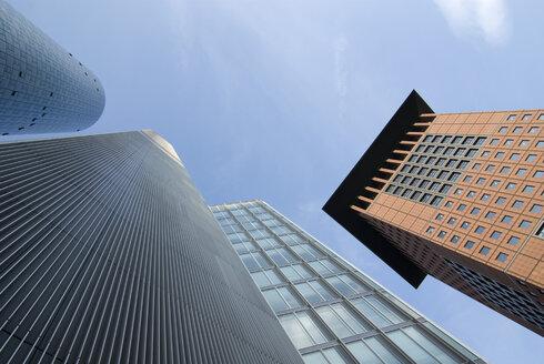 Germany, Frankfurt on the Main, Maintower and Japan Tower - MUF00727