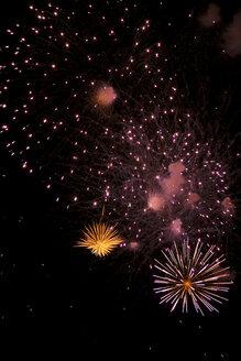 Night sky with Fireworks - PK00301