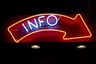 USA, Texas, Dallas, Illuminated Neon sign - PK00264
