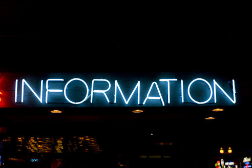 USA, Texas, Dallas, Illuminated Neon sign - PK00261