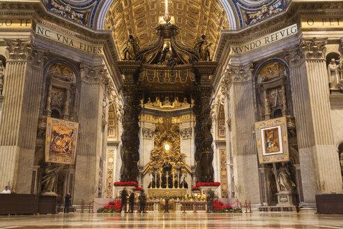 Italy, Rome, Vatican, St. Peter's Basilica, Altar - GW00926