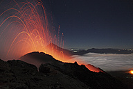 Guatemala, Pacaya volcano, Strombolian eruption - RM00304