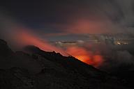 Guatemala, Pacaya, active volcano, Volcanic crater - RM00301
