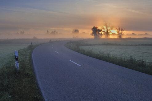 Germany, Bavaria, Street at dawn - RUEF00052