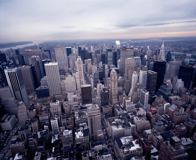 USA, New York City, elevated view - RRF00177