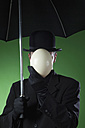 Businessman, man without face - MAE01603