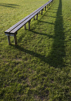 Sports field and seat bench - WWF00773