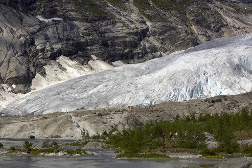 Norway, Nigardsbreen, Glaccier tongue - MR01193