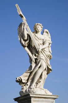 Italy, Rome, Ponte Sant'Angelo, Angel with the Cross - PSF00123