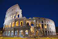 Italy, Rome, Colosseum at night - PSF00114