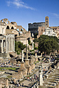 Italy, Rome, Roman Forum and tourists - PSF00108