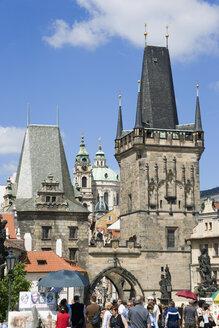 Czech Republic, Prague, Charles Bridge - PSF00036