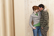 Couple embracing - WEST11604