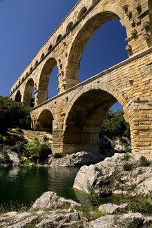 France, Provence, Pont du Gard, Aqueduct - PSF00220