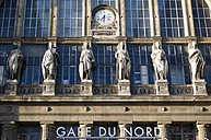 France, Paris, Central Station, Gare Du Nord, Facade - PSF00187