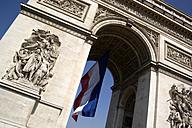 France, Paris, Arc de Triomphe, low angle view - PSF00163