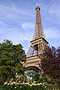 France, Paris, Eiffel Tower, low angle view - PSF00157