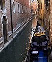 Italy, Venice, canal with gondola - PSF00325