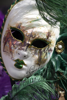 Italy, Venice, Carnival mask, close up - PSF00319