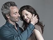 Couple, Man touching woman - WEST12322