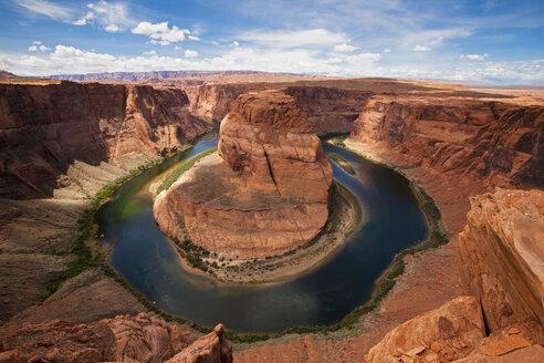 USA, Arizona, Horseshoe Bend, elevated view - FOF01641
