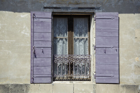 France, Window with open shutters - TLF00361